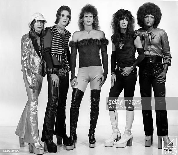 Kenneth HarrisonNeill JJ French Michael Valentine Billy Diamond and Mel Starr of the second incarnation of the rock group Twisted Sister that was...