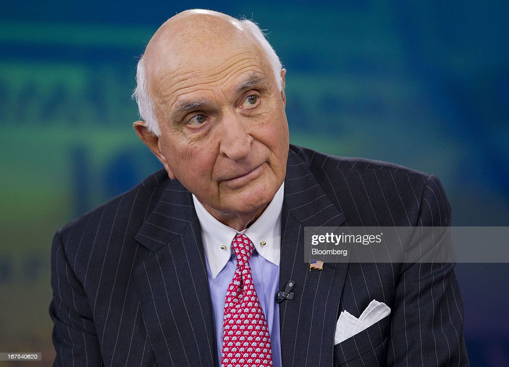 Kenneth 'Ken' Langone, co-founder of Home Depot Inc., listens during a Bloomberg Television interview in New York, U.S., on Friday, April 26, 2013. Langone said that Jamie Dimon is one of the best U.S. business leaders and should keep his dual roles as JPMorgan Chase & Co. Chairman and Chief Executive Officer. Photographer: Jin Lee/Bloomberg via Getty Images