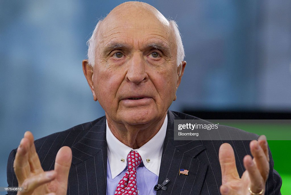 Kenneth 'Ken' Langone, co-founder of Home Depot Inc., speaks during a Bloomberg Television interview in New York, U.S., on Friday, April 26, 2013. Langone said that Jamie Dimon is one of the best U.S. business leaders and should keep his dual roles as JPMorgan Chase & Co. Chairman and Chief Executive Officer. Photographer: Jin Lee/Bloomberg via Getty Images