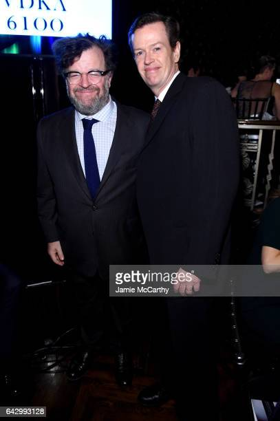 Kenneth Lonergan and Dylan Baker attend 69th Writers Guild Awards New York Ceremony at Edison Ballroom on February 19 2017 in New York City