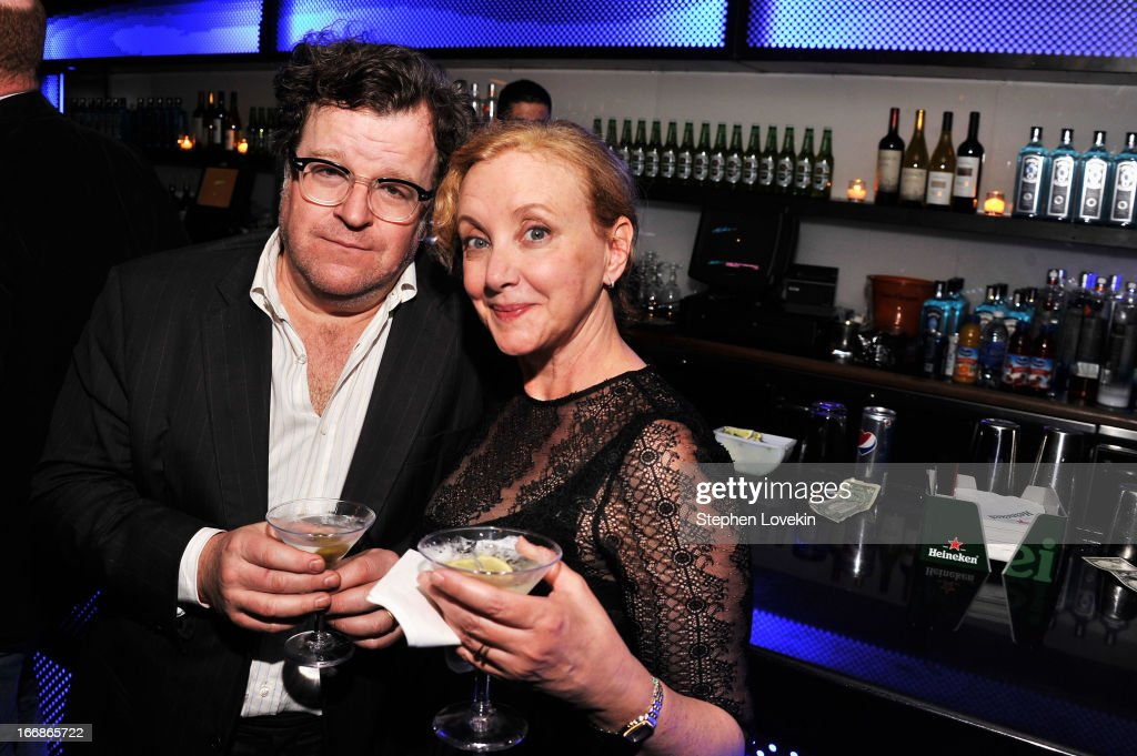 <a gi-track='captionPersonalityLinkClicked' href=/galleries/search?phrase=Kenneth+Lonergan&family=editorial&specificpeople=657683 ng-click='$event.stopPropagation()'>Kenneth Lonergan</a> and Jay Smith Cameron attend the 2013 Tribeca Film Festival opening night after party for 'Mistaken For Strangers' sponsored by American Express on April 17, 2013 in New York City.