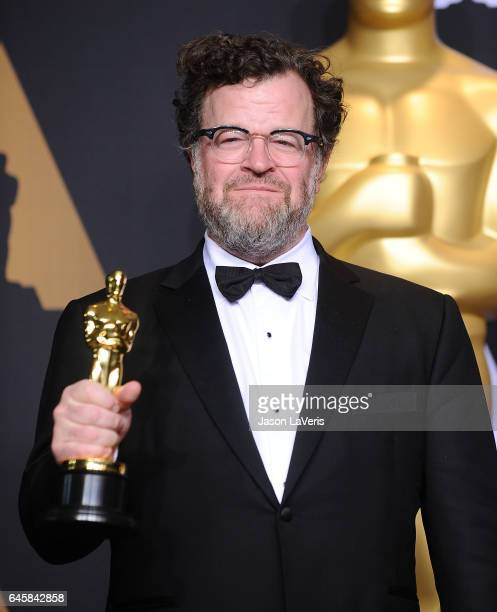 Kenneth Lonergan poses in the press room at the 89th annual Academy Awards at Hollywood Highland Center on February 26 2017 in Hollywood California