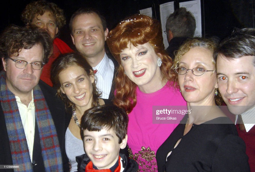 Kenneth Lonergan Sarah Jessica Parker Carl Andress Charles Busch J Smith Cameron Matthew Broderick and Sean Monahan *Exclusive and No Tabloids*