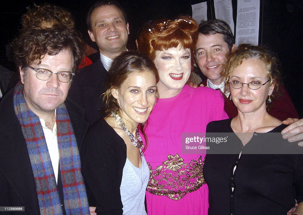 Kenneth Lonergan Sarah Jessica Parker Carl Andress Charles Busch J Smith Cameron and Matthew Broderick *Exclusive and No Tabloids*