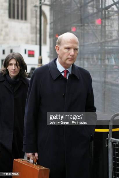Kenneth McFarlane arrives at the House of Lords Tuesday January 31 2006 The McFarlane case is one of two being heard by the Law Lords over the next...