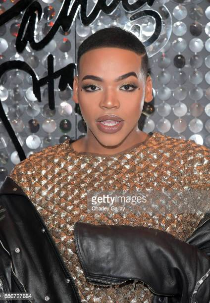 Kenneth Senegal at the MAC Cosmetics PatrickStarrr Launch Party at El Rey Theatre on December 5 2017 in Los Angeles California