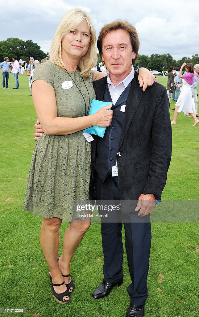Kenney Jones (R) attends the Audi International Polo at Guards Polo Club on July 28, 2013 in Egham, England.