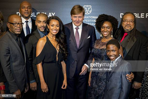 NETHERLANDS JANUARY Kennie James Colin Salmon Alexander Karim Melanie Liburd King WillemAlexander Saycon Sengbloh Ernest Dickerson and Dani Dare...