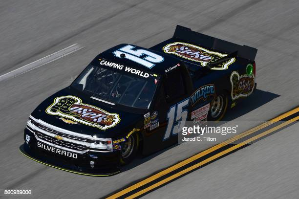 Kennington driver of the Losers Bar Grill Chevrolet practices for the NASCAR Camping World Truck Series Fred's 250 at Talladega Superspeedway on...