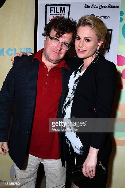 Kennith Lonergan and Anna Paquin at Film Independent's 'Margaret' held atThe Bing Theatre At LACMA on July 17 2012 in Los Angeles California