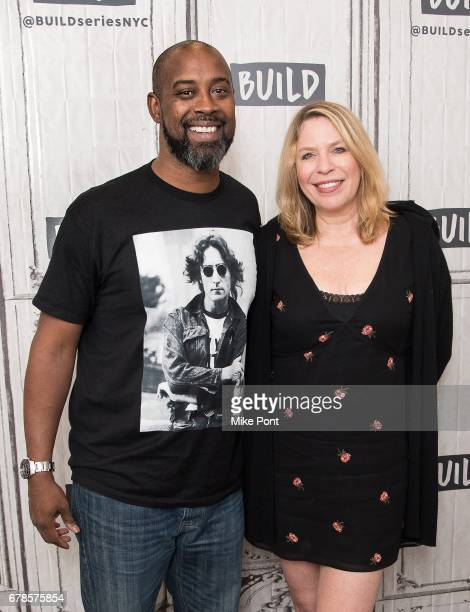 Kenny Anderson and Jill Campbell visit Build Studios to discuss 'Mr Chibbs' at Build Studio on May 4 2017 in New York City