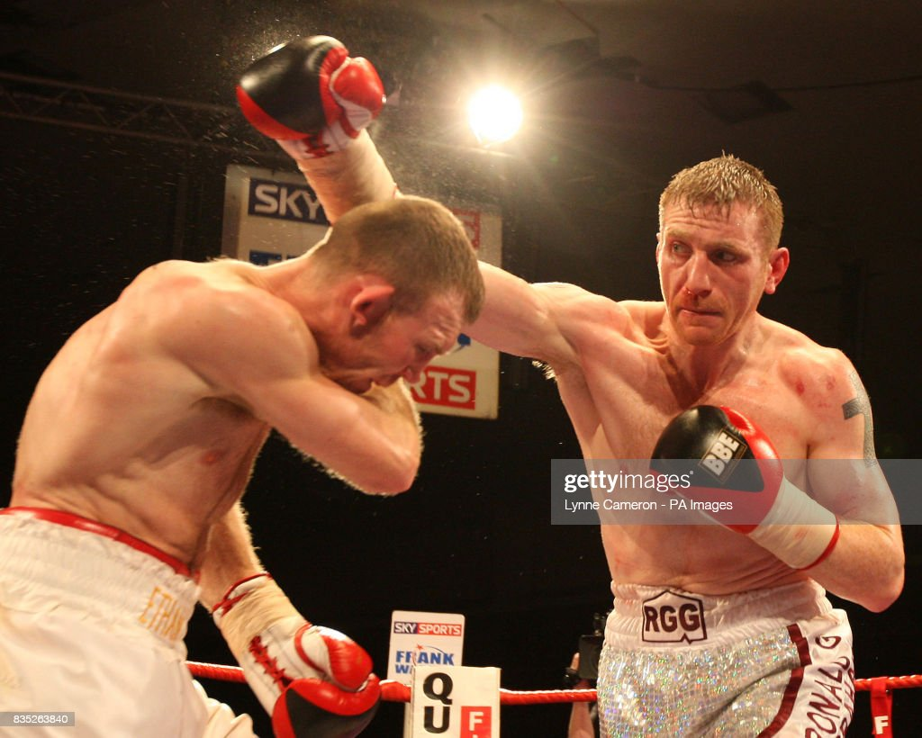 Boxing Super Middleweight Kenny Anderson v Nathan King