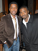 Kenny 'Babyface' Edmonds and Ray J during Songs of Hope IV at Esquire House 360° Inside at Esquire House 360° in Beverly Hills California United...
