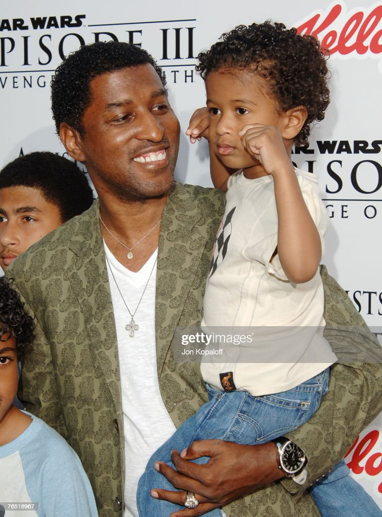 Kenny 'Babyface' Edmonds and son