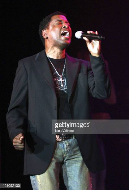 Kenny 'Babyface' Edmonds during Kenneth 'Babyface' Edmonds in Concert at The Borgata in Atlantic City July 22 2005 at The Borgata in Atlantic City...
