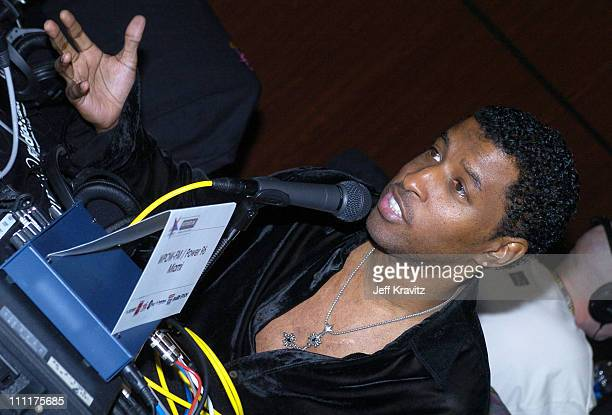 Kenny 'Babyface' Edmonds during The 46th Annual Grammy Awards Westwood One Backstage at the Grammys Day 2 at Staples Center in Los Angeles California...