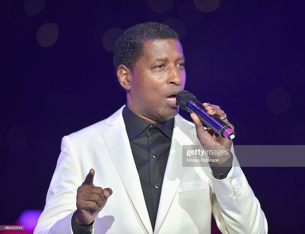 Kenny Babyface Edmonds performs at the 2015 Ford Neighborhood Awards Hosted By Steve Harvey at Phillips Arena on August 8 2015 in Atlanta Georgia