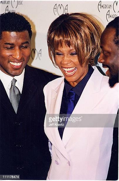 Kenny 'Babyface' Edmonds Whitney Houston and Wyclef Jean