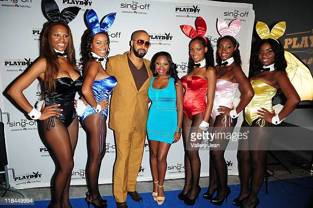 Kenny Burns and Naturi Naughton attend NBC Universal new series The Playboy Club During The 15th Annual American Black Film Festival After Party at...