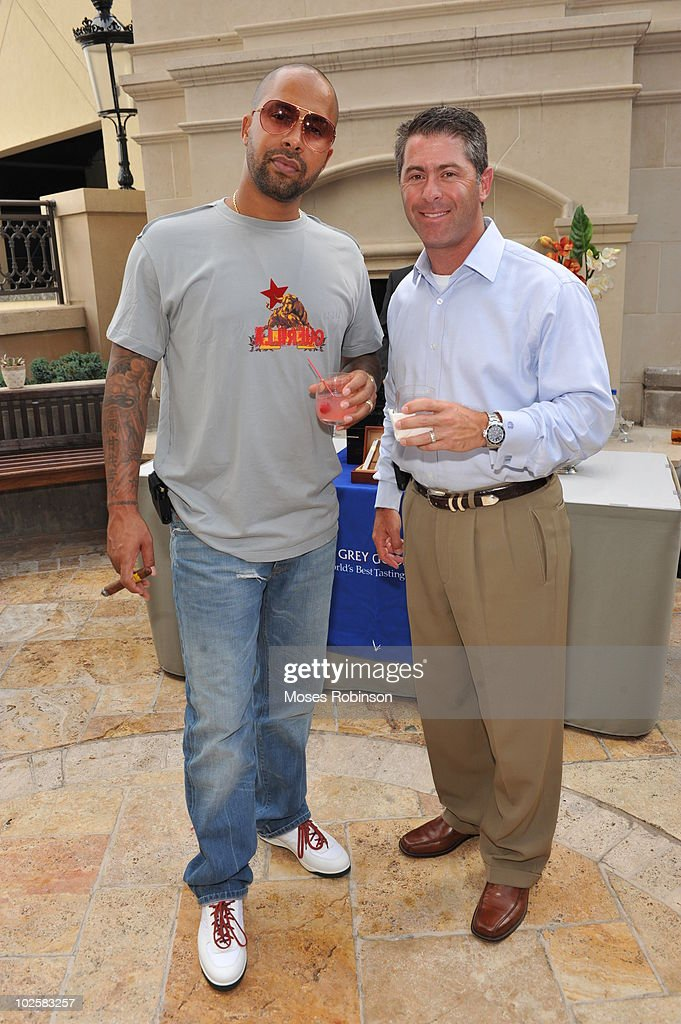 Kenny Burns and Robert Epstein attend the Grey Goose summer soiree on July 1, 2010 in Atlanta, Georgia.