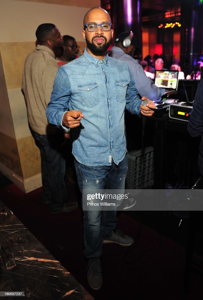 Kenny Burns attends the birthday celebration for Big Boi of Outkast at Club Reign on February 2, 2013 in Atlanta, Georgia.