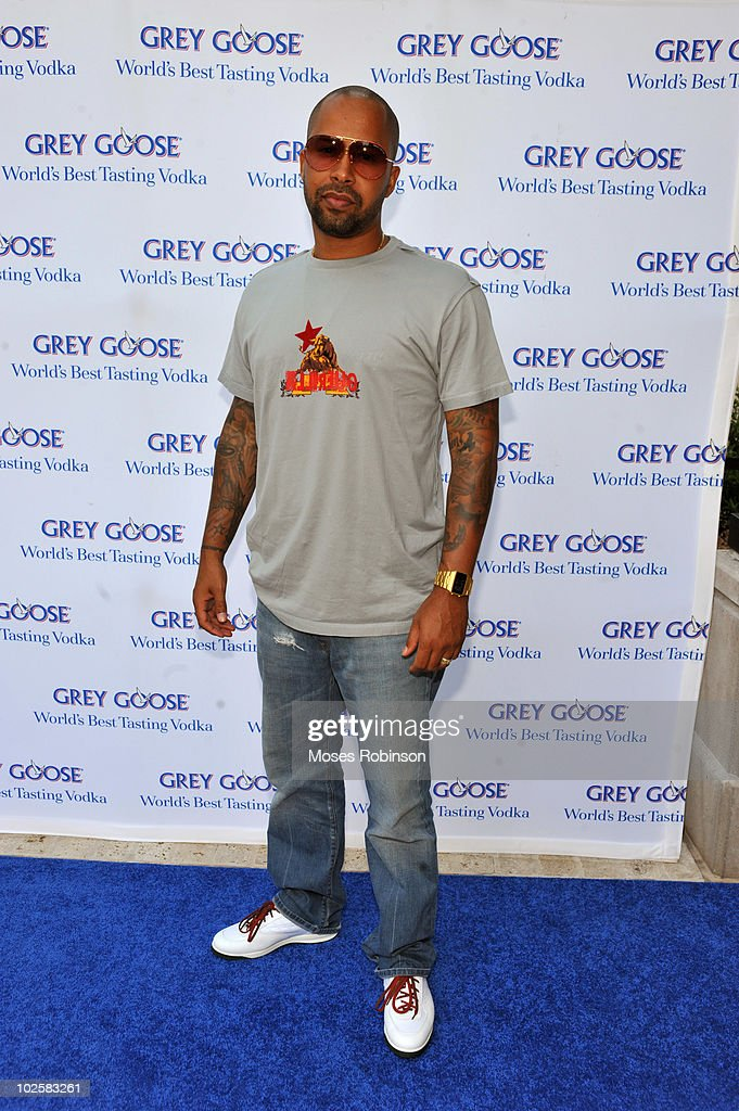 Kenny Burns attends the Grey Goose summer soiree on July 1, 2010 in Atlanta, Georgia.