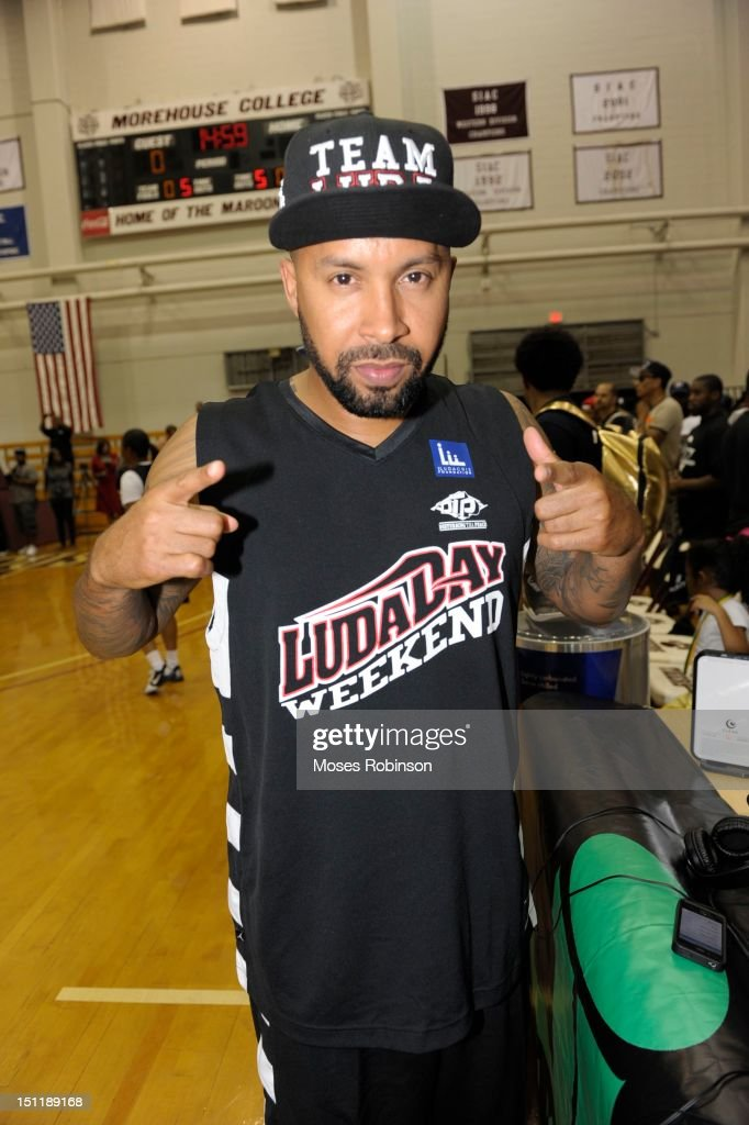 Kenny Burns attends the LudaDay 2012 Weekend Celebrity Basketball Game at Forbes Arena on September 2, 2012 in Atlanta, Georgia.
