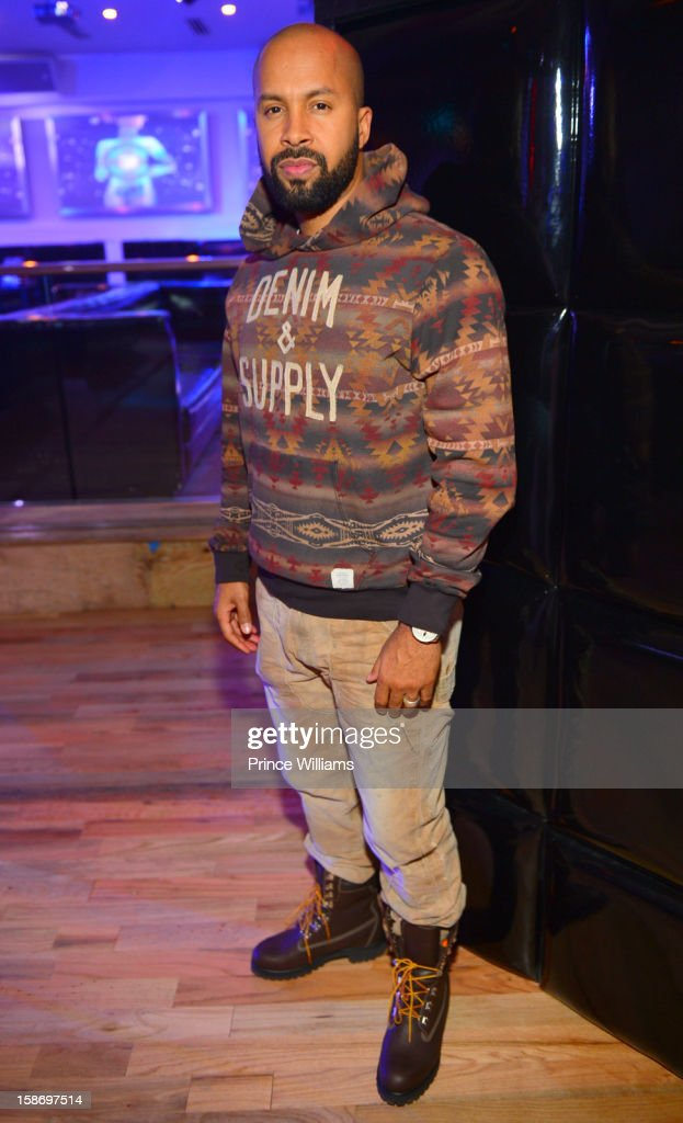 Kenny Burns attends T.I. 'Trouble Man Heavy Is The Head' Album Release Party at Compound on December 22, 2012 in Atlanta, Georgia.