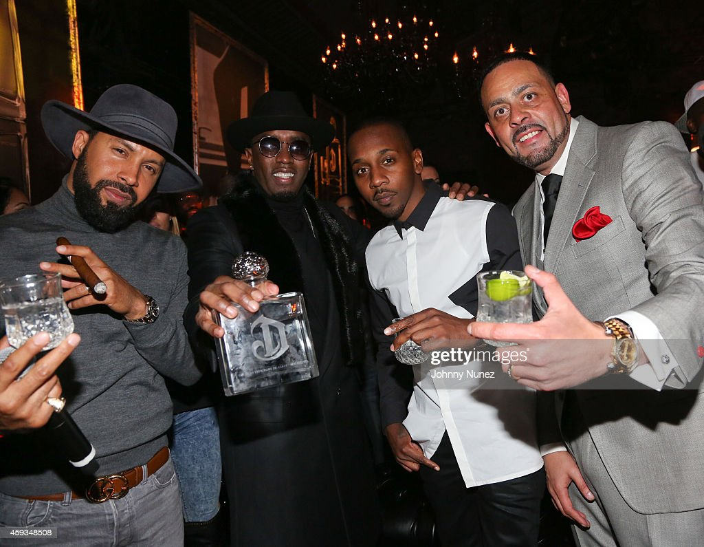 Kenny Burns Sean U0027Diddyu0027 Combs Mr Rugs And James Cruz Attend Deleon Tequila  Launch