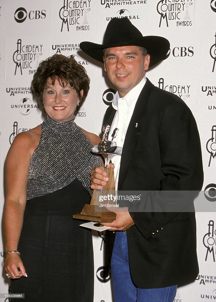 <a gi-track='captionPersonalityLinkClicked' href=/galleries/search?phrase=Kenny+Chesney&family=editorial&specificpeople=209324 ng-click='$event.stopPropagation()'>Kenny Chesney</a> and Mother Karen Chandler during 33rd Annual Academy of Country Music Awards at Universal Ampitheater in Universal City, California, United States.