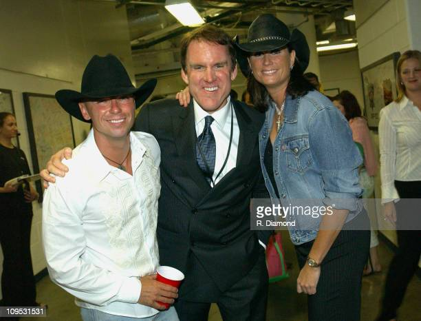 Kenny Chesney Brian Philips CMT and Terri Clark during CMT 2004 Flame Worthy Video Music Awards Backstage and Audience at Gaylord Entertainment...