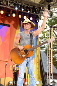Kenny Chesney performs on ABC's 'Good Morning America' at SummerStage at Rumsey Playfield Central Park on July 8 2016 in New York City