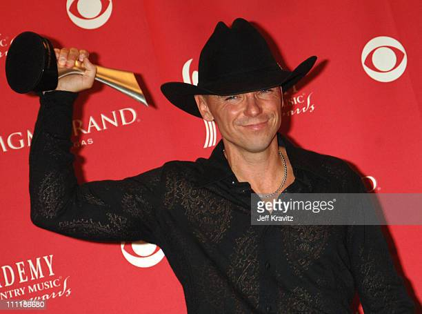 Kenny Chesney winner 'Entertainer of the Year' during 41st Annual Academy of Country Music Awards Press Room at MGM Grand Theater in Las Vegas Nevada...