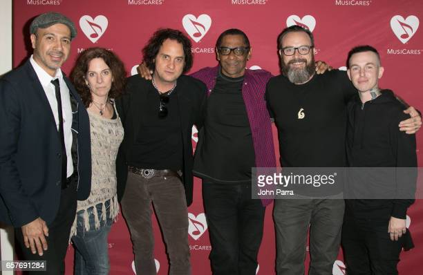 Kenny Cordova Jennifer Leff Bobby MacIntyre Harold Owens Stephen Gibb and Daniel Disaster of HXV attend the Addiction Health Wellness in the Dance...