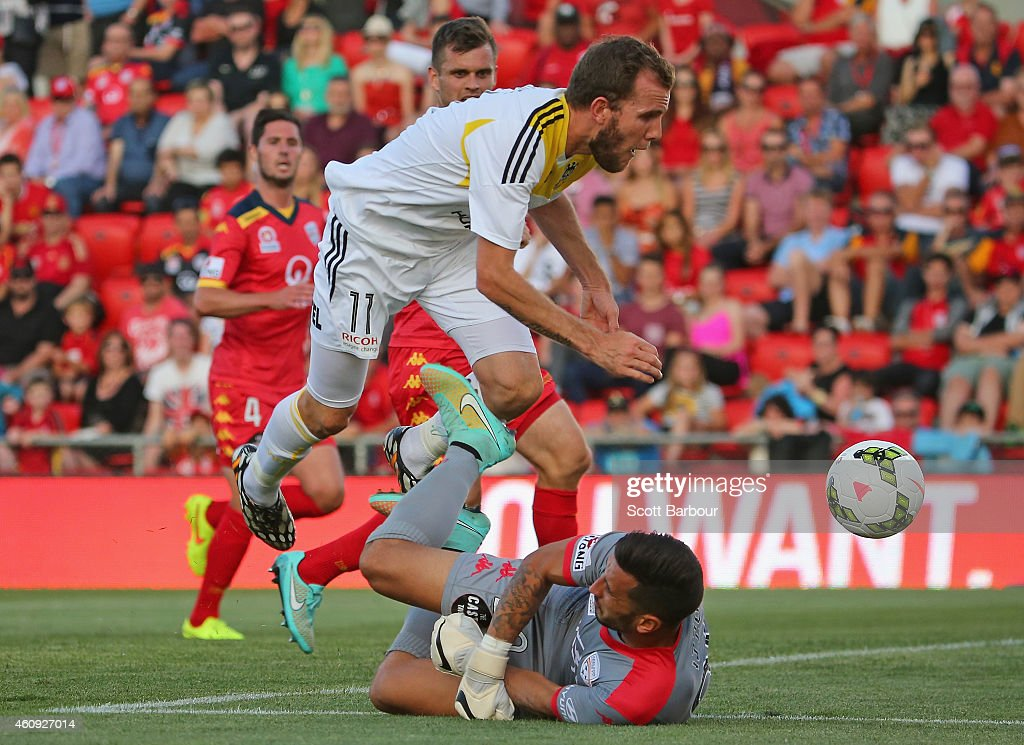 A-League Rd 14 - Adelaide v Wellington