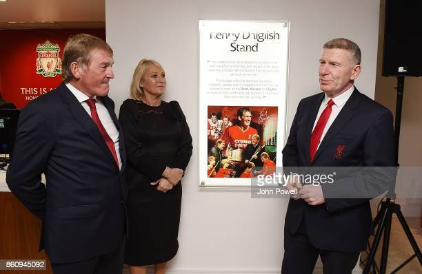 Kenny Dalglish and Marina Dalglish had over the keys to a community suit in Anfield to the Liverpool Red Neighbours team during the Kenny Dalglish...