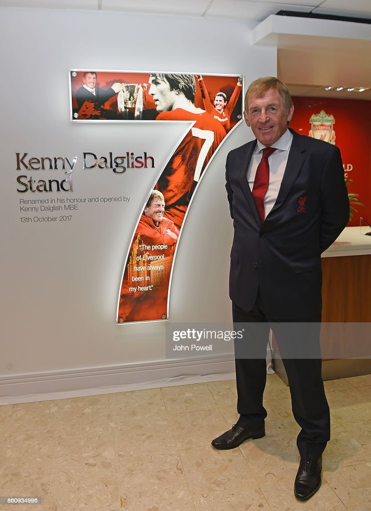 Liverpool FC Stand Unveiling