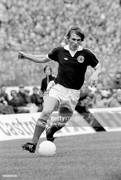 Kenny Dalglish in action for Scotland during the Home International match against England at Hampden Park in Glasgow 15th May 1976 Scotland won 21 to...