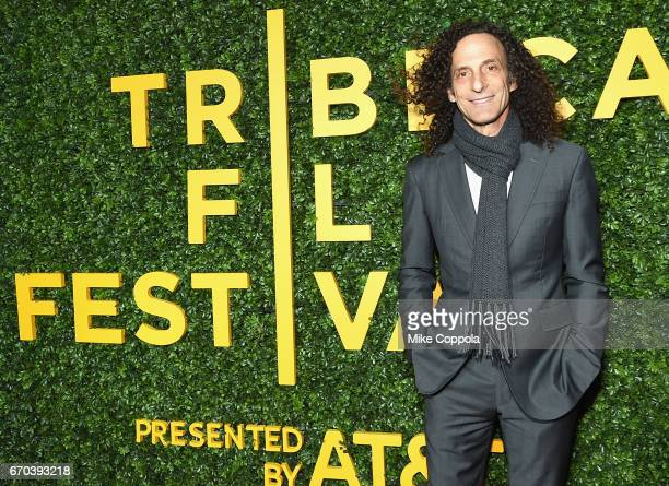 Kenny G attends the 'Clive Davis The Soundtrack Of Our Lives' Premiere at Radio City Music Hall on April 19 2017 in New York City