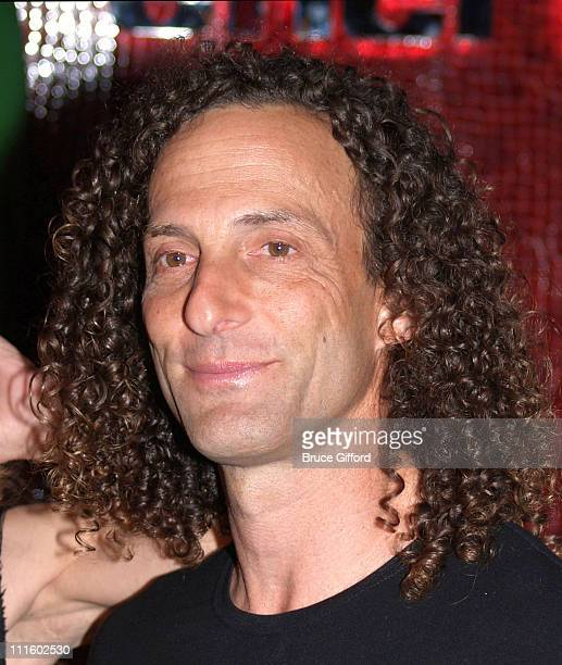 Kenny G during Grand Opening of Cherry Nightclub in Las Vegas April 22 2006 at Red Rock Casino Resort and Spa in Las Vegas Nevada United States