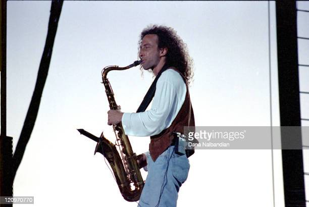 Kenny G during Kenny G Performs at the Gorge in George Washington August 15 1992 at Gorge in George Washington in George Washington United States