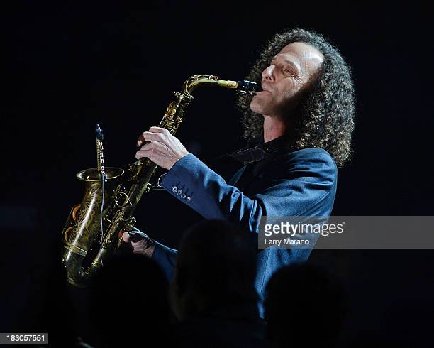 Kenny G performs at Hard Rock Live in the Seminole Hard Rock Hotel Casino on March 3 2013 in Hollywood Florida
