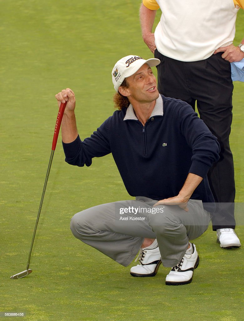 Kenny G plays at the Ninth Annual Michael Douglas Friends Celebrity Golf Tournament at the Trump National Golf Club in Rancho Palos Verdes Los Angeles