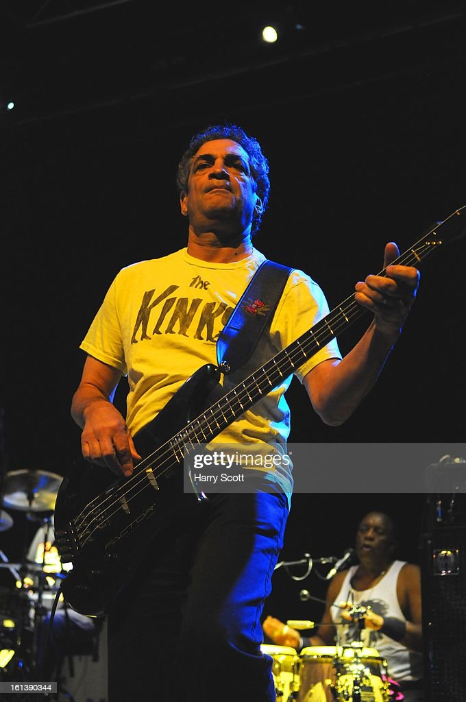 Kenny Gradney of Little Feat performs on stage at Norwich UEA LCR on February 10, 2013 in Norwich, England.