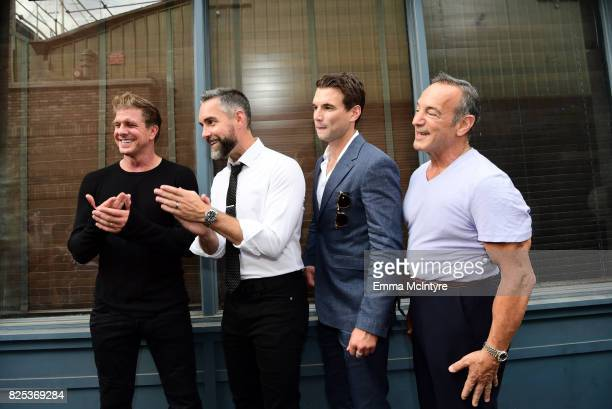 Kenny Johnson Jay Harrington Alex Russell and Peter Onorati attends the 2017 Summer TCA Tour CBS Television Studios' Summer Soiree at CBS Studios...