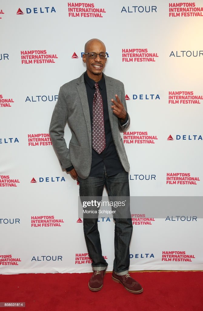 Kenny Kool attends the red carpet during Hamptons International Film Festival 2017 - Day Two on October 6, 2017 in East Hampton, New York.