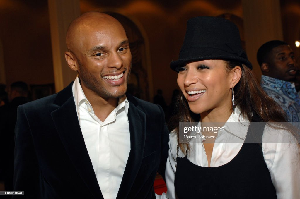 Kenny Lattimore and Chante Moore during 22nd Annual Stellar Gospel Music Awards Nominee Reception at Gaylord Opryland Resort and Convention Center in...