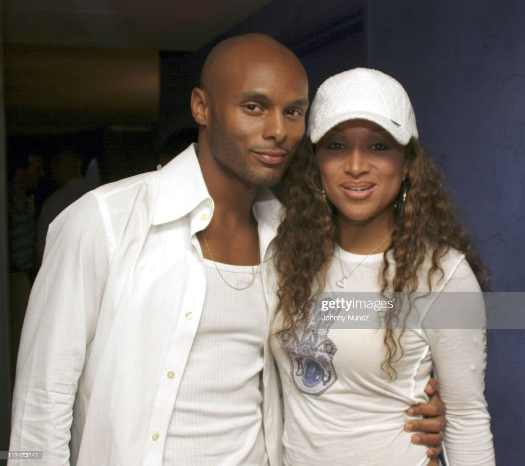 Kenny Lattimore and Chante Moore during Andre Harrell Hosts Launch of Champagne and Bubbles Collections at Palms Real World Suite in Las Vegas Nevada...