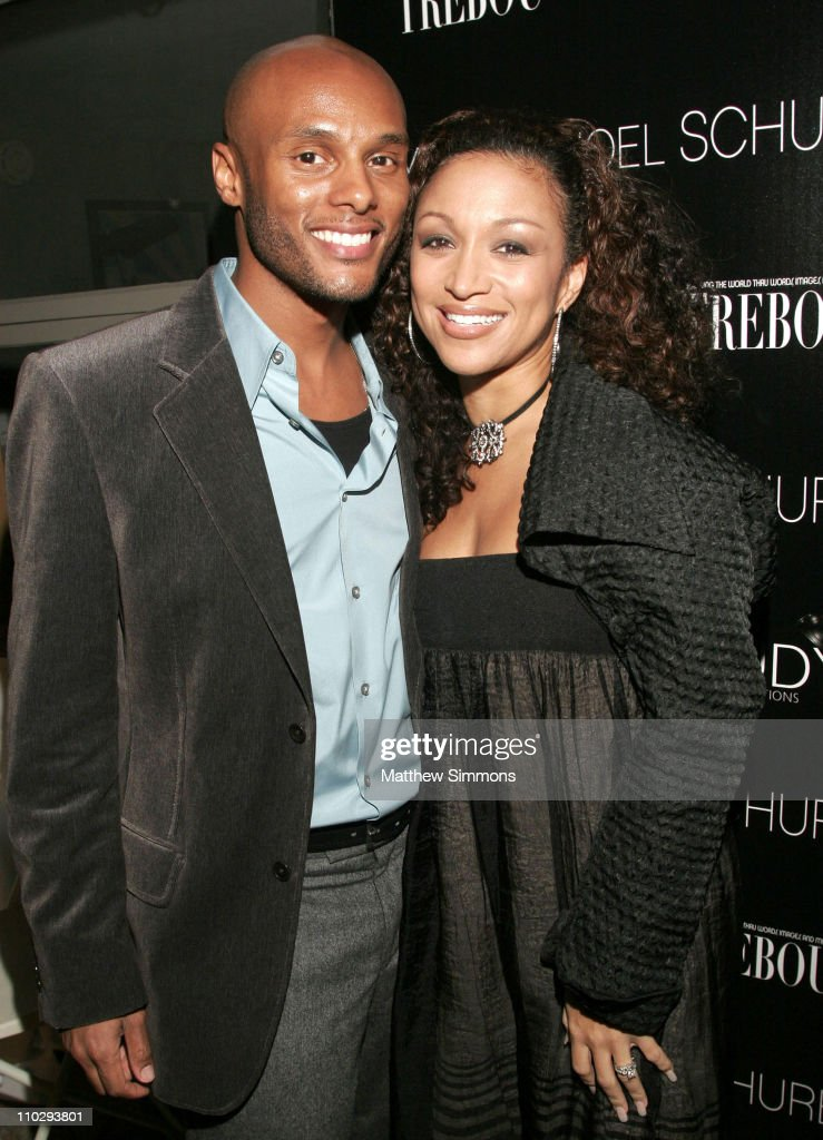 Kenny Lattimore and Chante Moore during Gaudy PR Presents a Celebration for TREBOU and the Birthday of Yvette Noel Schure at Private Residence in Los...