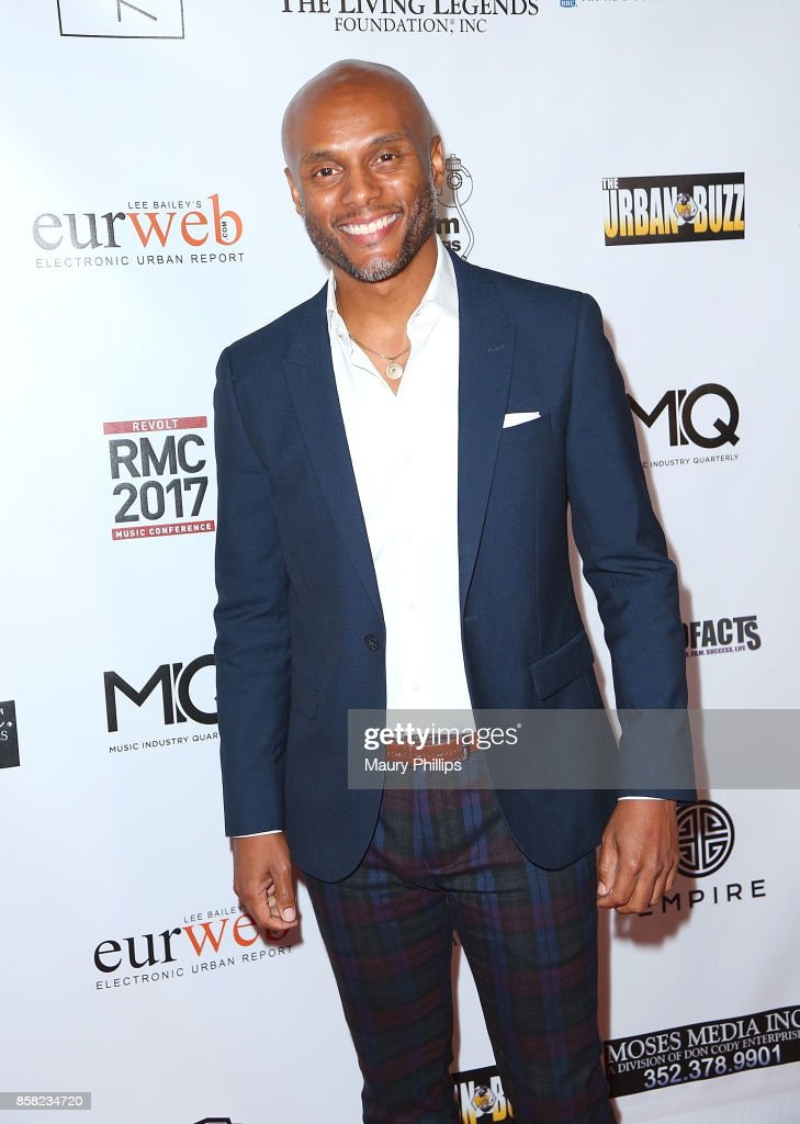 Kenny Lattimore arrives at The Living Legends Foundation's 21st annual awards gala - at Taglyan Cultural Complex on October 5, 2017 in Hollywood, California.